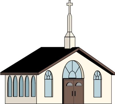 Church building roof clipart png black and white download Catholic church clip art clipart images gallery for free download ... png black and white download