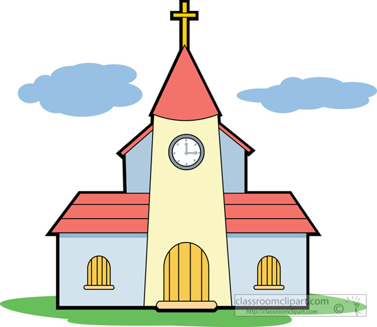 Church cartoon clipart picture free library Catholic Church Clipart | Free download best Catholic Church Clipart ... picture free library