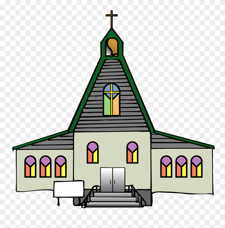 Catholic church clipart picture black and white stock Black Church Clip Art Free Clipart Images - Roman Catholic Church ... picture black and white stock