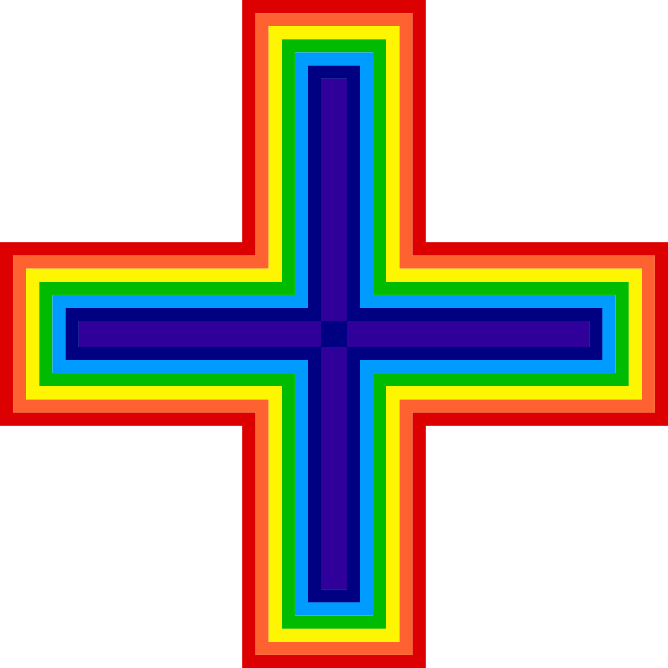 Cross of christ clipart svg Clipart - Rainbow Cross svg