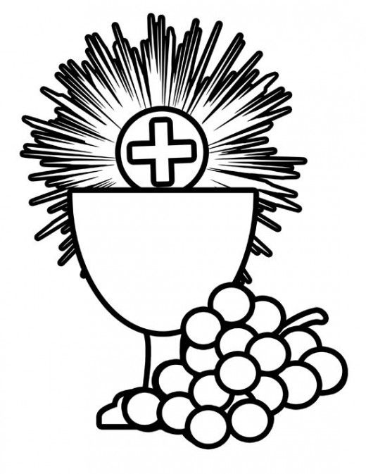 Catholic clipart eucharist svg black and white stock Free First Holy Communion Clip Art | First communion | First ... svg black and white stock