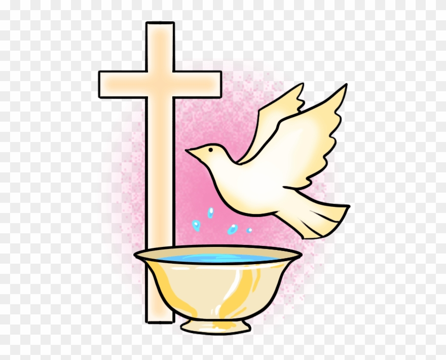 Baptism Symbol Sacraments Of The Catholic Church Eucharist - Symbol ... image transparent stock