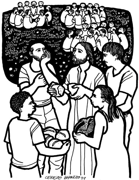 Catholic clipart for bulletins 6 sunday ordinary time cycle a clip art freeuse library Resources for Children\'s Liturgy - 6th Sunday of Lent B - Gospel of ... clip art freeuse library