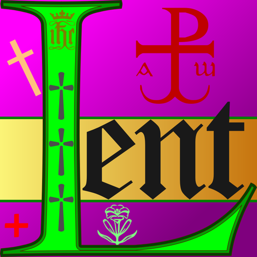 Catholic lent | Public domain vectors clip stock
