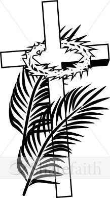Catholic clipart palm sunday image black and white download Palm Sunday | St. Peter Roman Catholic Church - Chillicothe - 4020 ... image black and white download