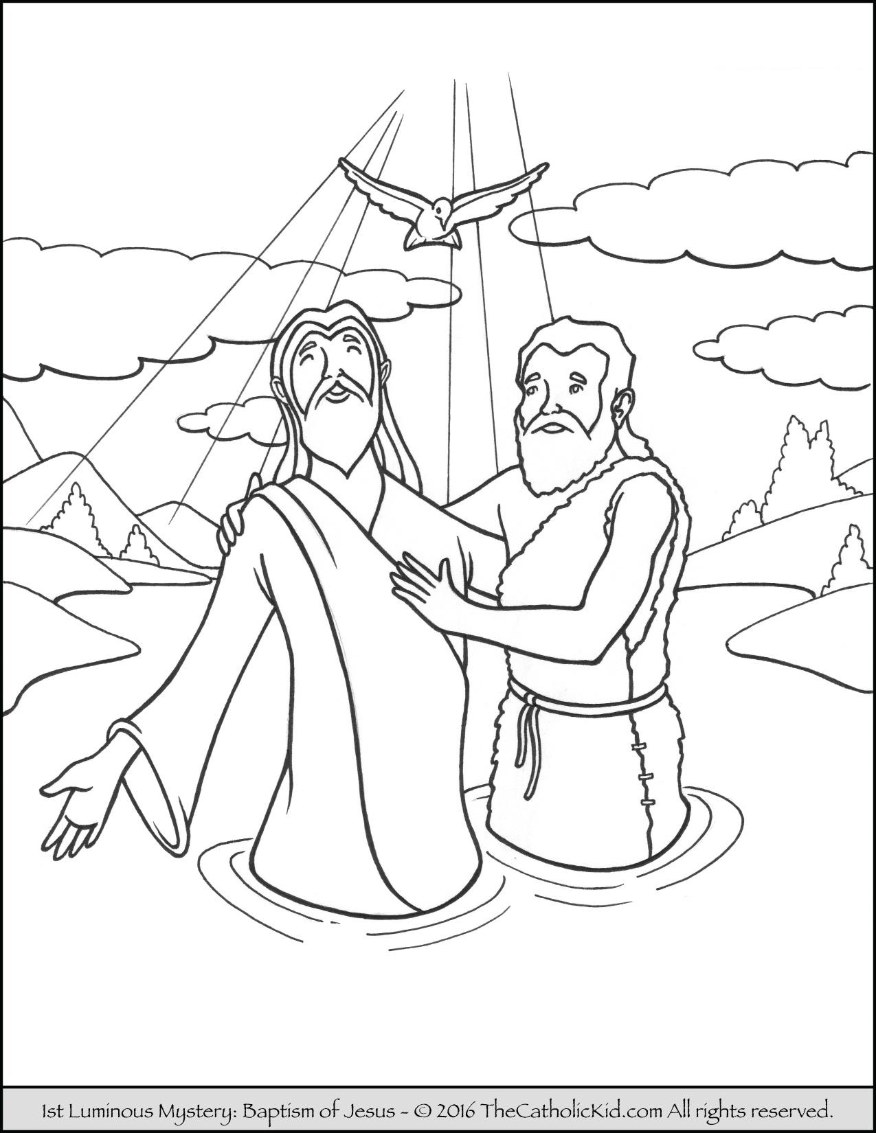 Catholic clipart theophony svg free Epiphany - Catholic Coloring Pages - The Catholic Kid svg free