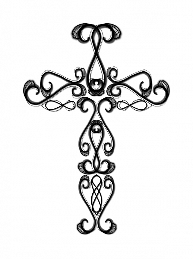 Heart and cross clipart black and white vector royalty free download Drawing Pictures Of Crosses at GetDrawings.com | Free for personal ... vector royalty free download