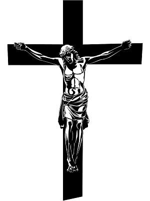 Catholic crucifix clipart svg free Catholic crucifix clipart 4 » Clipart Portal svg free