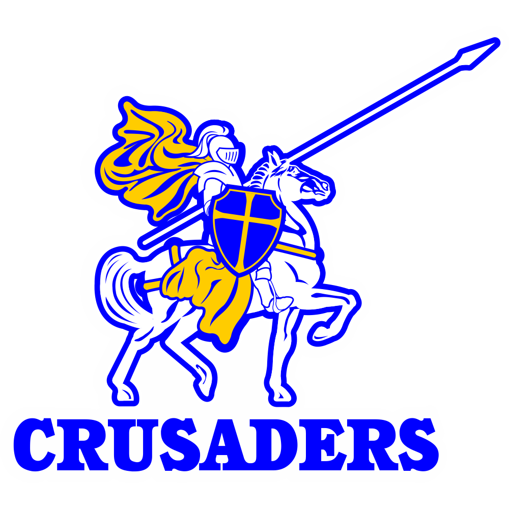 Catholic crusades clipart picture free download Crusaders Logo Car Decal picture free download