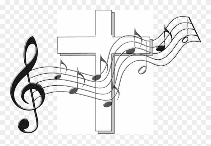 Freeuse Stock Catholic Lent Clipart - Transparent Background Music ... picture library stock