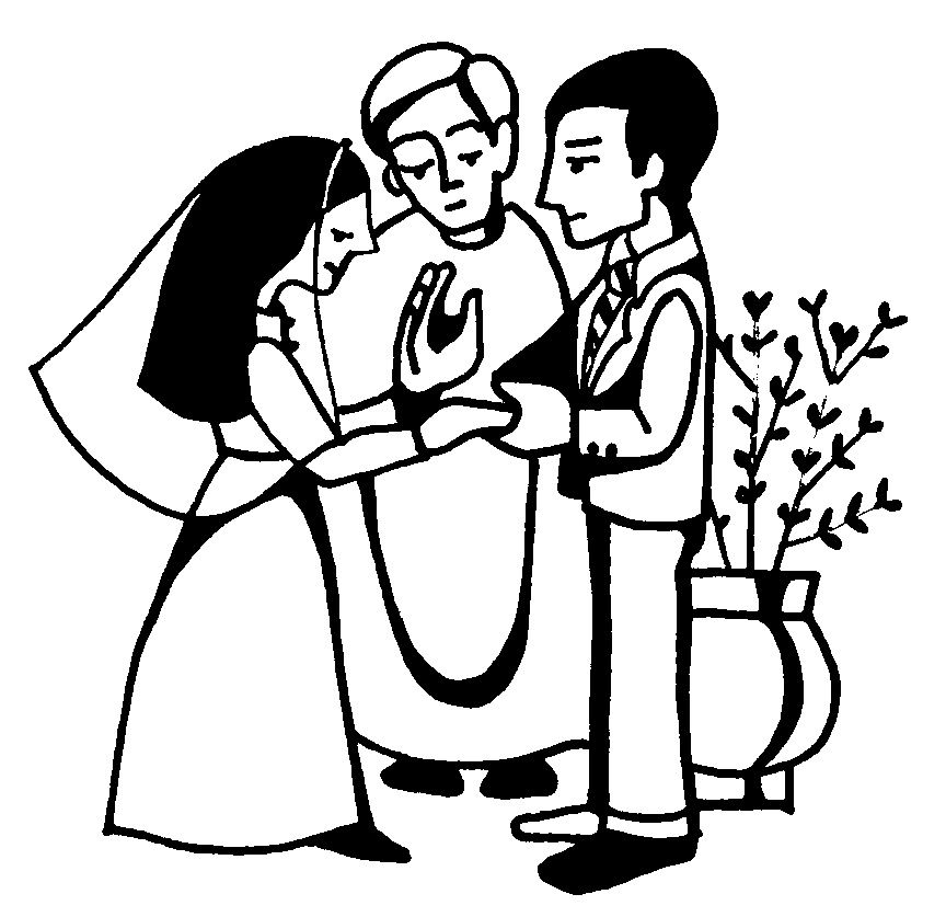 Catholic sacrament clipart vector freeuse library Clipart catholic sacraments | 1st Grade | Catholic wedding, Catholic ... vector freeuse library