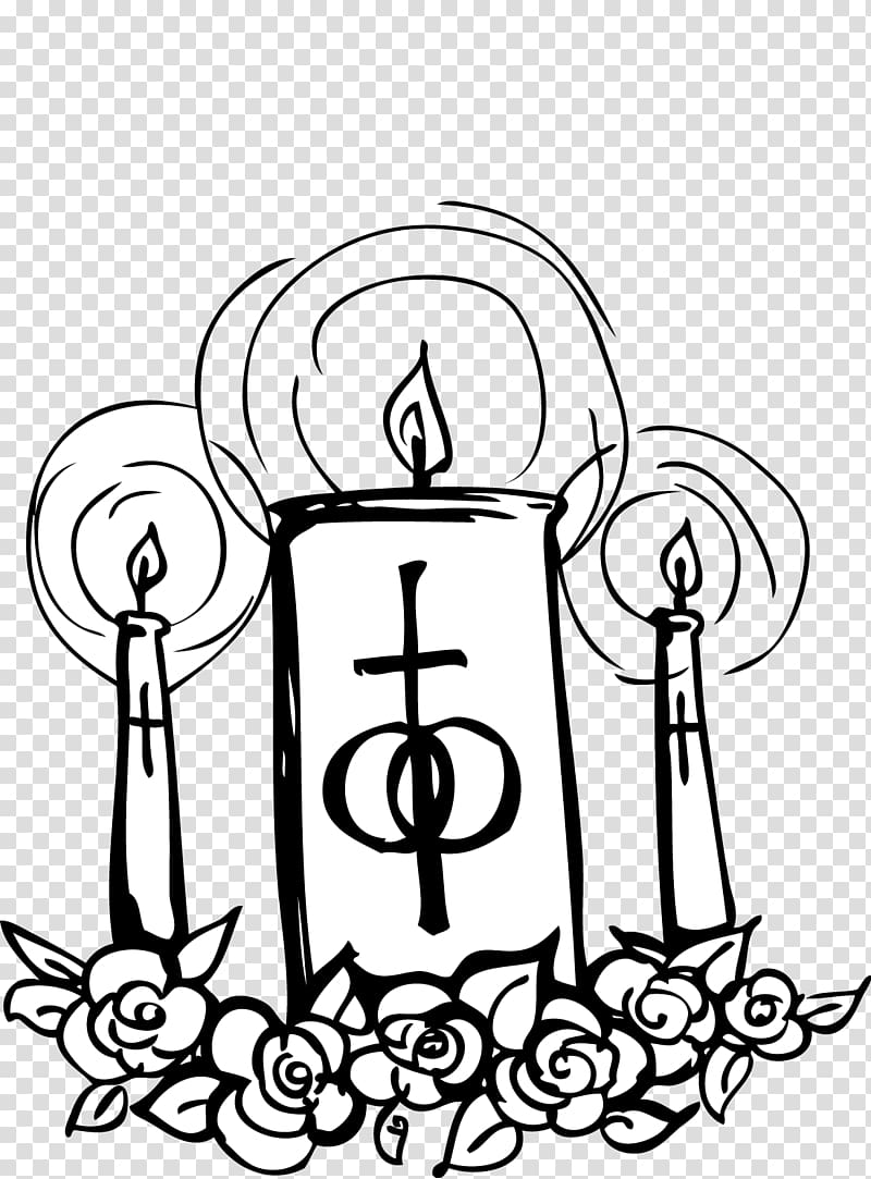 Catholic Church Catholicism Wedding , Church Candles transparent ... graphic library
