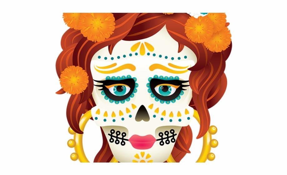 Day Of The Dead Clipart Catrina - La Calavera Catrina Free PNG ... jpg royalty free
