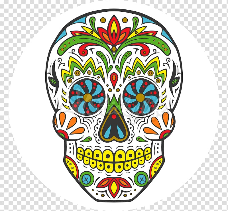 Calavera illustration, La Calavera Catrina Day of the Dead Human ... svg royalty free
