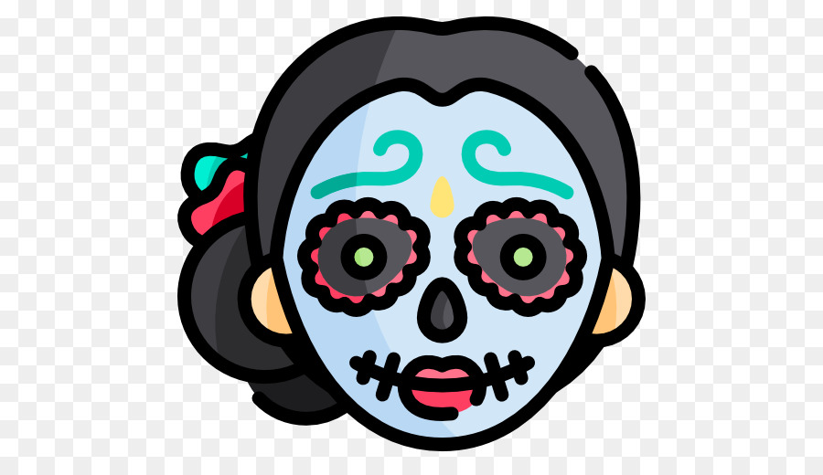 Skull Cartoon png download - 512*512 - Free Transparent La Calavera ... png royalty free stock