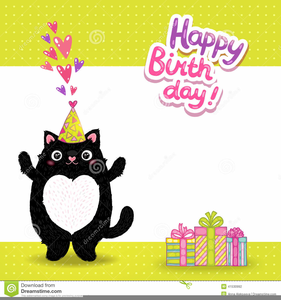 Cats birthday clipart clipart Birthday Cats Clipart | Free Images at Clker.com - vector clip art ... clipart