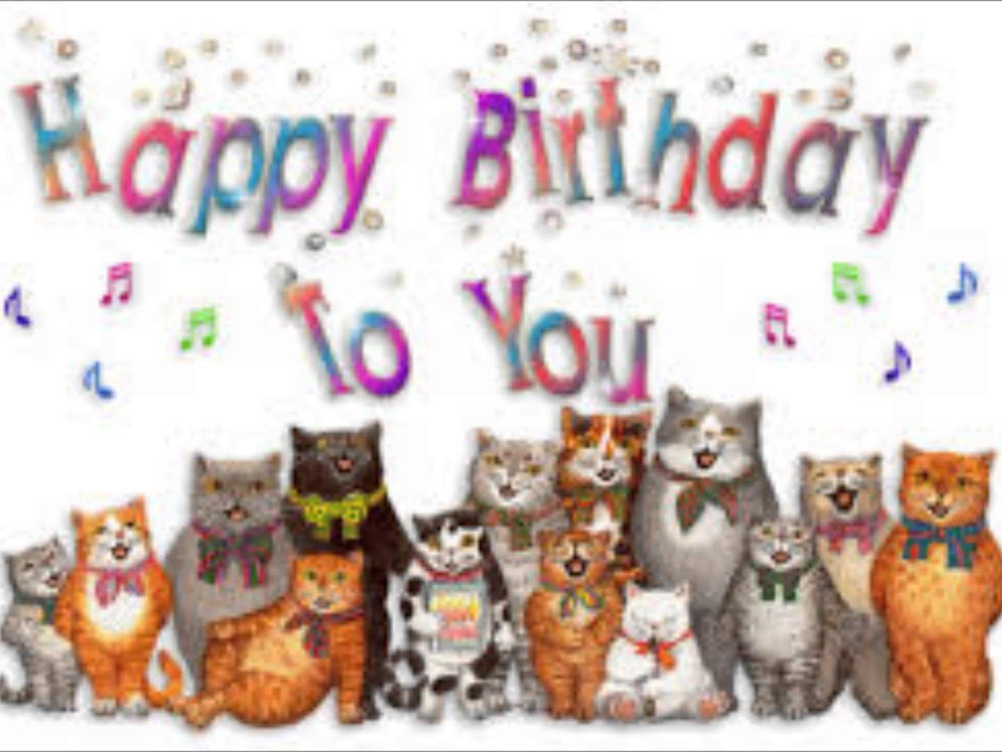 Cats birthday clipart image freeuse library Within Clip Art Cat Happy Birthday Maxresdefault 13 | Clip Art image freeuse library