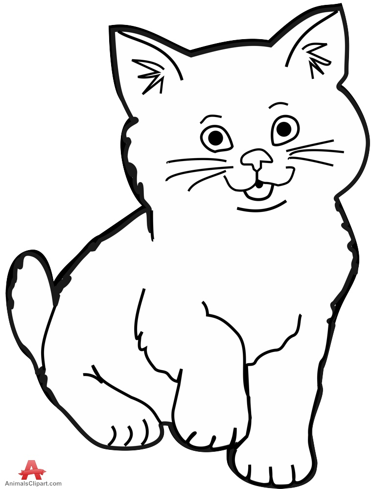 Clipart cats black and white png royalty free library Cat black and white cat clip art black and white free clipart images ... png royalty free library