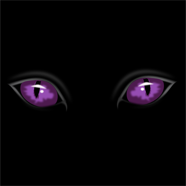 Free Clipart Cat Eyes banner free library