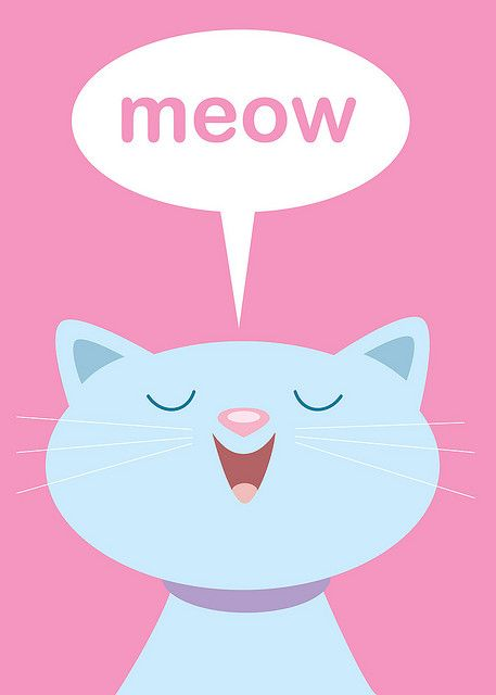 Cats meowing clipart svg library Cats Meow | Clip Art for paint | Cat drawing, Cats, Cat art svg library
