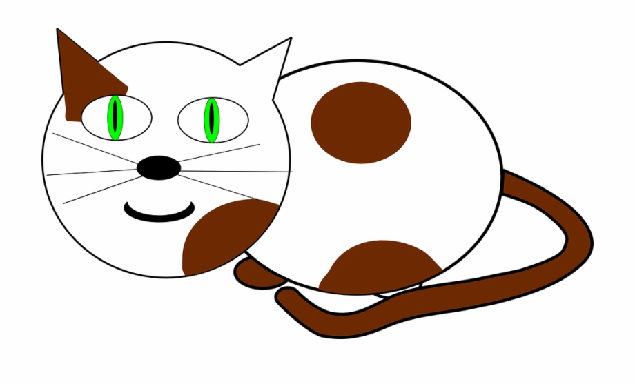 Cats meowing clipart vector free stock Cat Meow Animal Mammal Kitty Feline Sitting - Animated Cat Clipart ... vector free stock