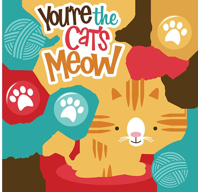 Cats meowing clipart vector library stock Kitten Cartoon clipart - Cat, Kitten, Food, transparent clip art vector library stock