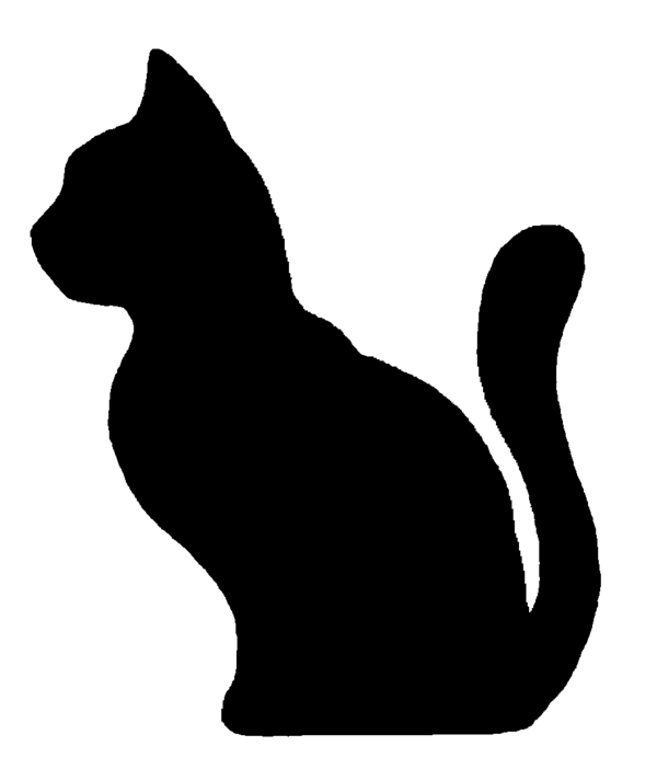 Catsilhouette clipart picture royalty free Free Cat Silhouette Images, Download Free Clip Art, Free Clip Art on ... picture royalty free