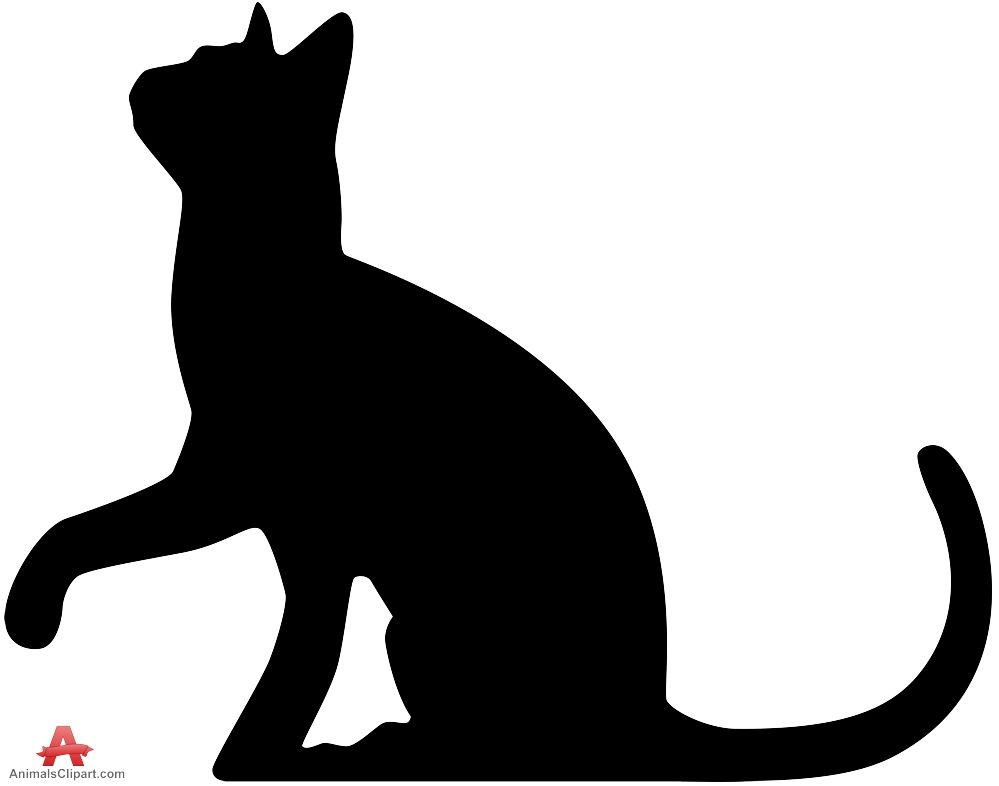 Catsilhouette clipart picture stock Cat Silhouette Looking Up | Free Clipart Design Download | Quilts ... picture stock