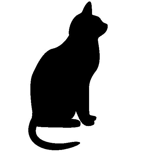 68+ Cat Silhouette Clip Art | ClipartLook clip art free library