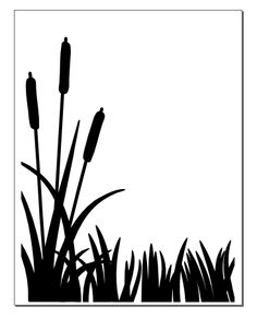 Cattails silhouette clipart jpg download Free Cattail Cliparts, Download Free Clip Art, Free Clip Art on ... jpg download