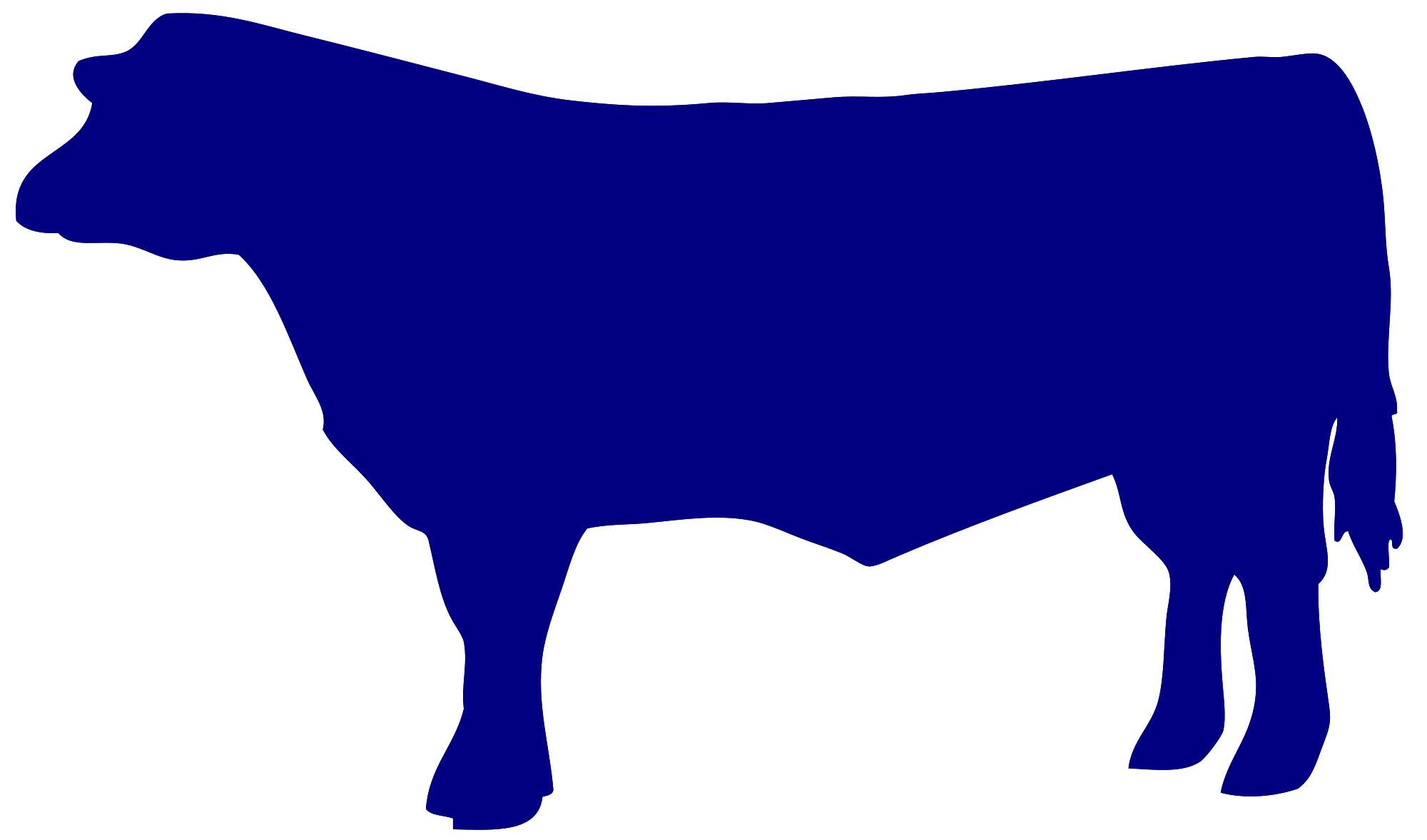 Cattle car clipart picture transparent library Beef Cow Silhouette at GetDrawings.com | Free for personal use Beef ... picture transparent library