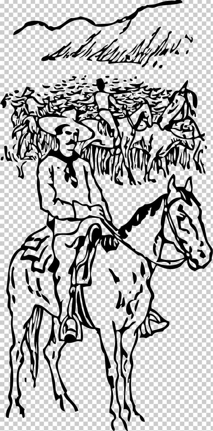 Cattle drive black and white clipart free svg library Texas Longhorn Cattle Drive Cowboy Ranch PNG, Clipart, Animals, Area ... svg library