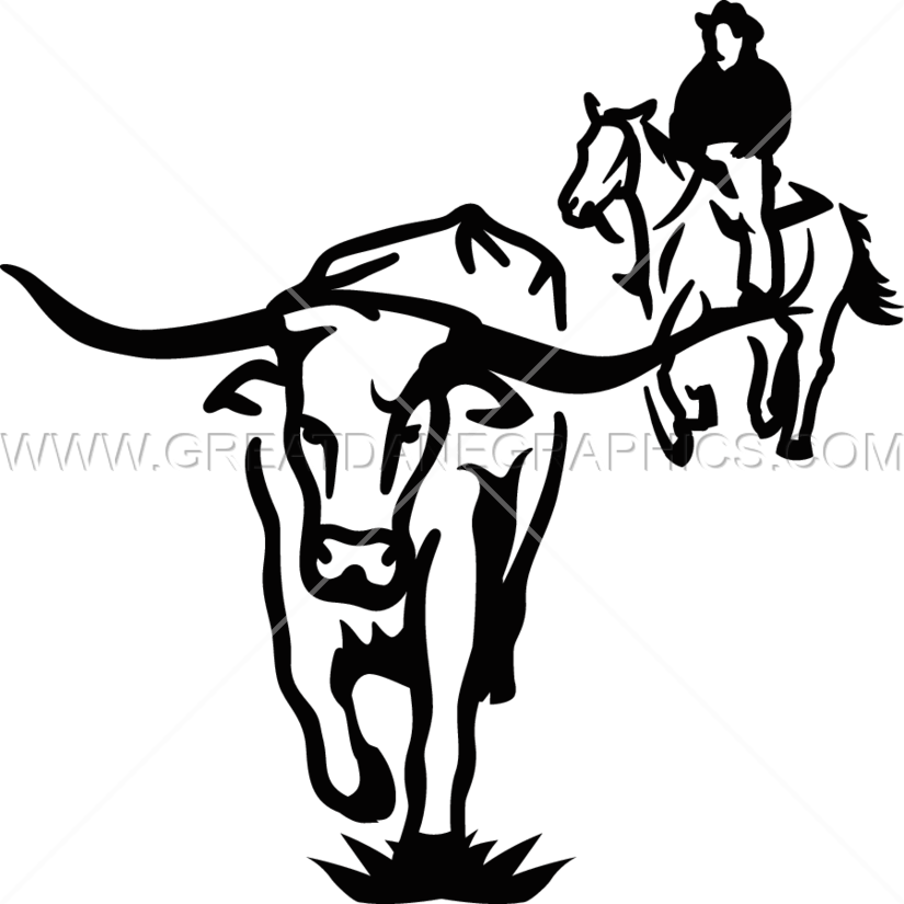 Cattle drive black and white clipart free clip art transparent library Cattle drive clip art clipart images gallery for free download ... clip art transparent library
