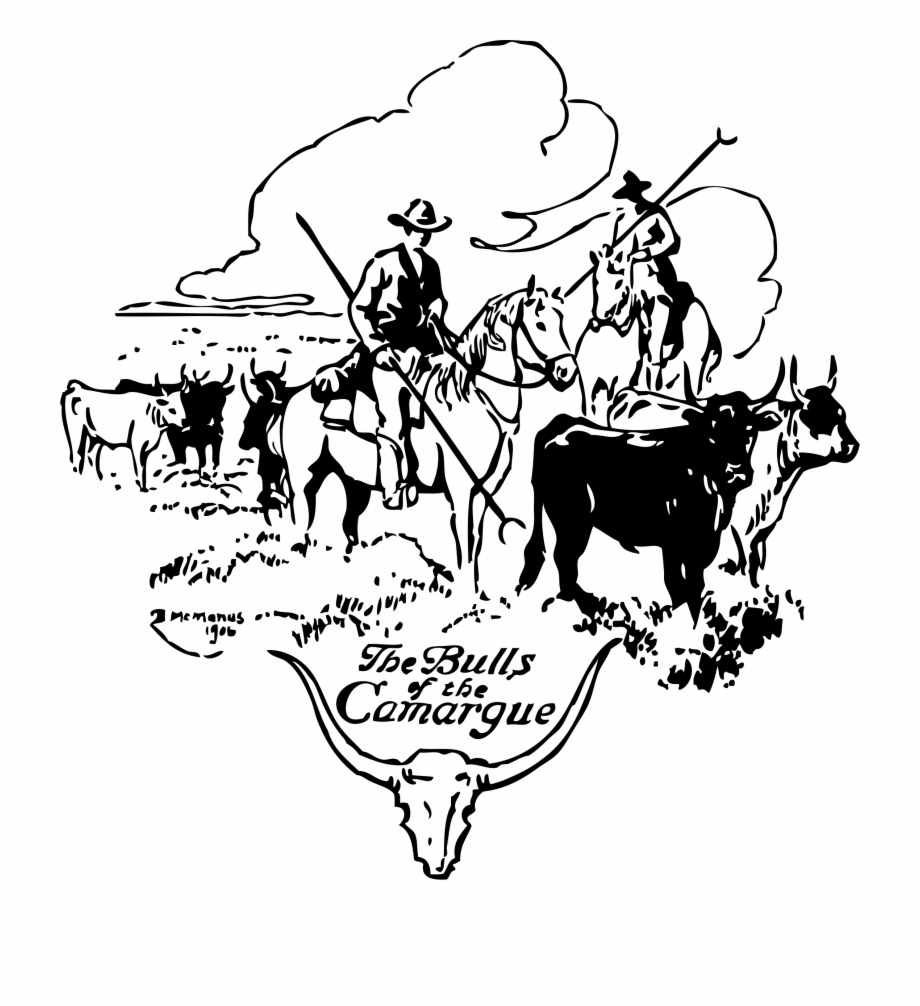 Cattle drive clipart free clip free download This Free Icons Png Design Of Bulls Of Camargue - Cattle Drive Clip ... clip free download