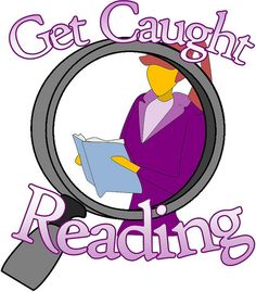 Caught reading clipart png transparent library Get Caught Reading Month png transparent library