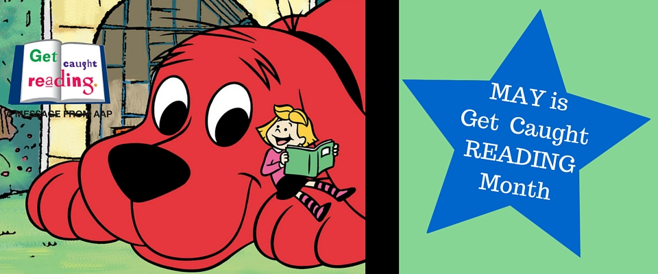 Clifford Caught Reading – Central Mississippi Regional Library System vector library library