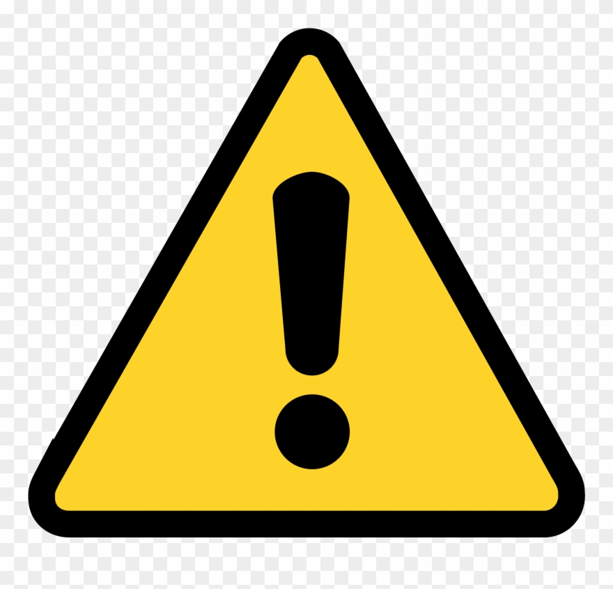 Caution clipart library Caution Sign Clipart - Png Download (#7013) - PinClipart library