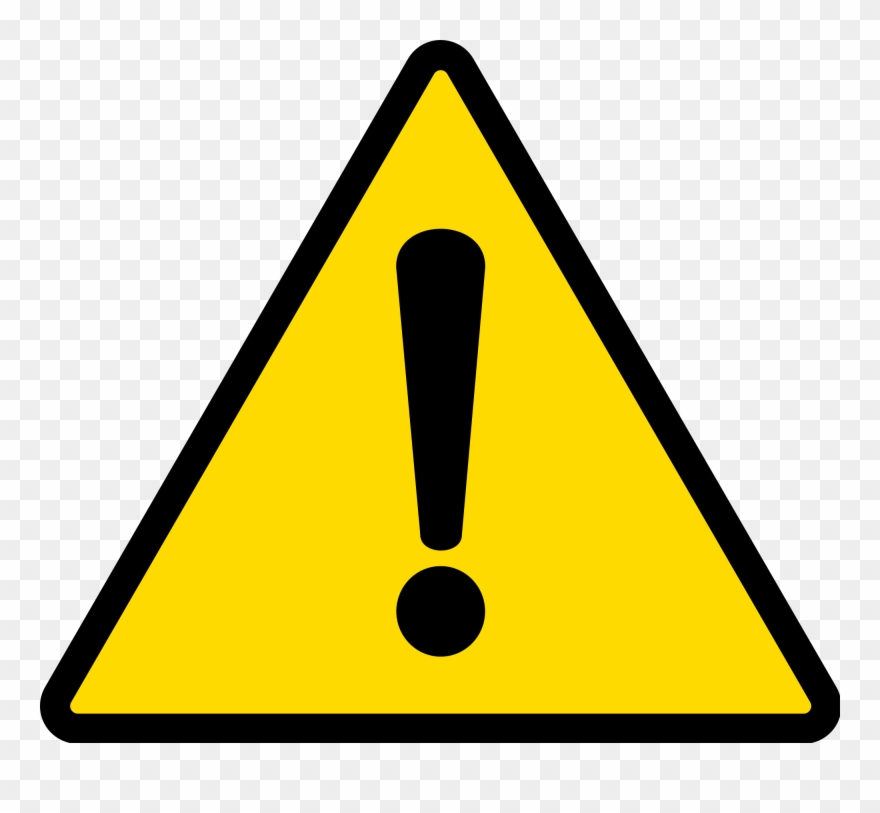 Caution icon clipart free download Tpms Warning Icon - Exclamation Icon Svg Clipart (#1784735) - PinClipart free download
