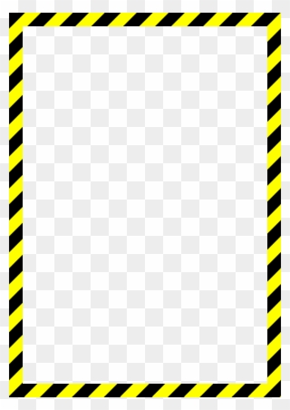 Caution tape clipart border svg black and white Black And Yellow Tape - Yellow Caution Tape Png Clipart - Full Size ... svg black and white