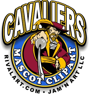 Cavaliers Mascot Clipart jpg royalty free library