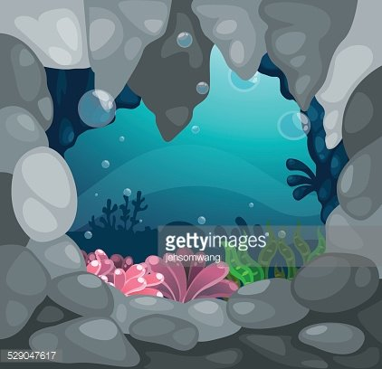 Cave under the tree clipart graphic download Cave Under The Sea Background Vector premium clipart - ClipartLogo.com graphic download