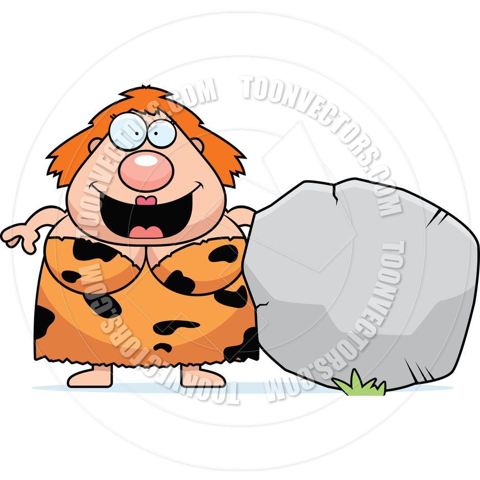 Cavewoman word clipart vector library Cartoon Rock | Cartoon Cavewoman Rock by Cory Thoman | Toon Vectors ... vector library