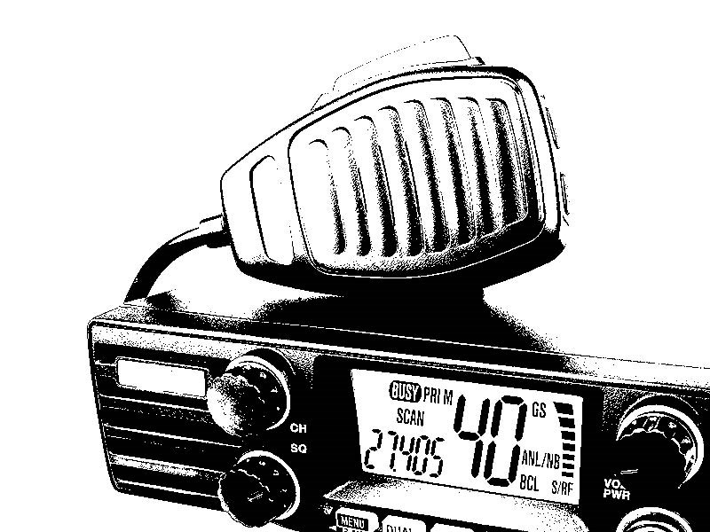 Cb radio clipart jpg black and white library Cb radio clipart 4 » Clipart Station jpg black and white library