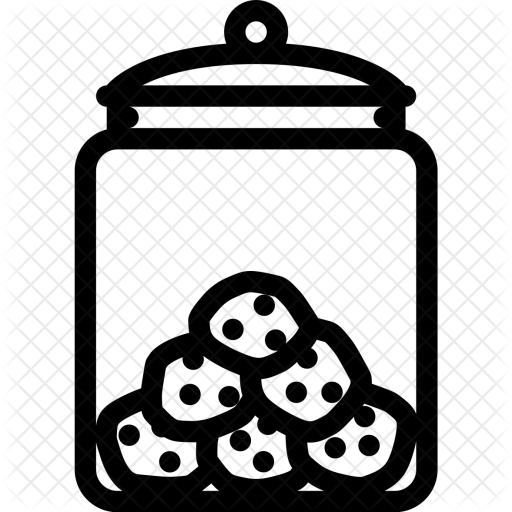 Ccokies in a jar clipart black and white svg royalty free download Cookie jar clipart black and white clipart images gallery for free ... svg royalty free download