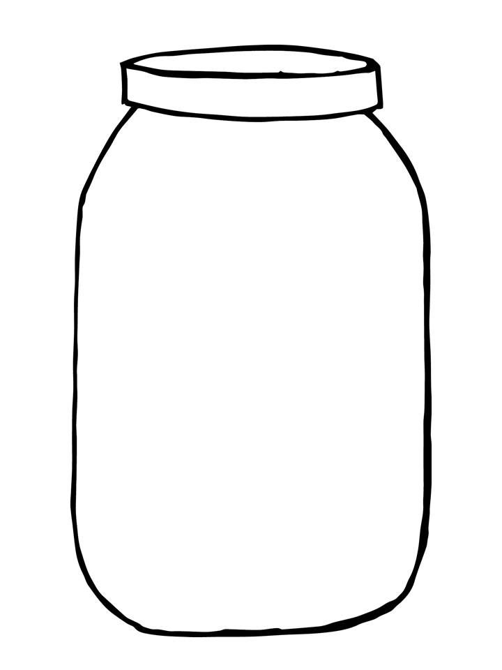 Ccokies in a jar clipart black and white jpg freeuse Sweetly scrapped mason jar love mason jars free printable clip art 2 ... jpg freeuse