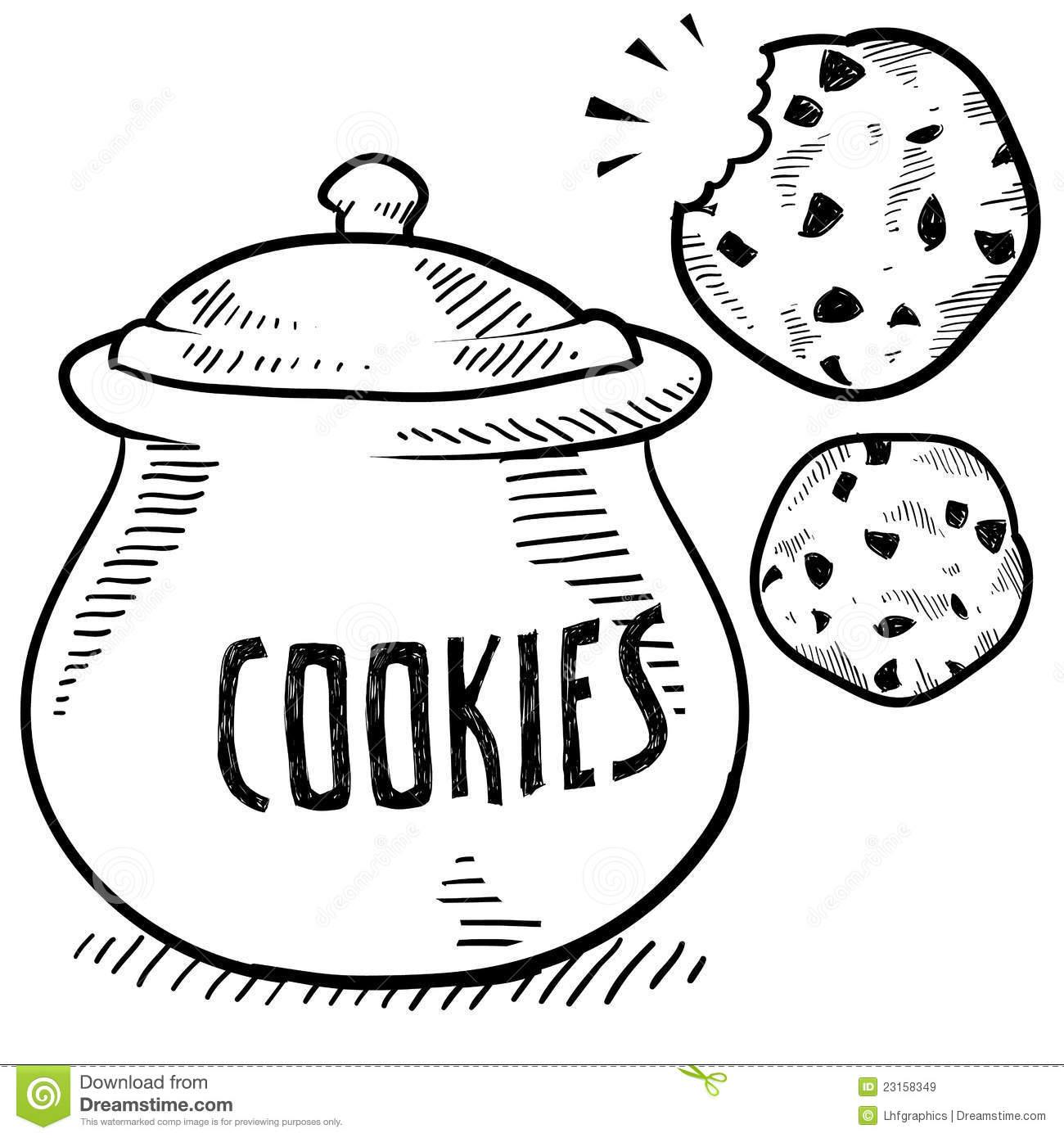 Ccokies in a jar clipart black and white clip art royalty free download Cookie Jar Clipart Black And White (102+ images in Collection) Page 3 clip art royalty free download