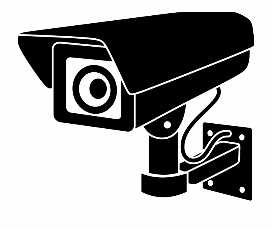 Cctv camera logo clipart svg black and white stock Security Big Image Png - Surveillance Camera Clipart, Transparent ... svg black and white stock
