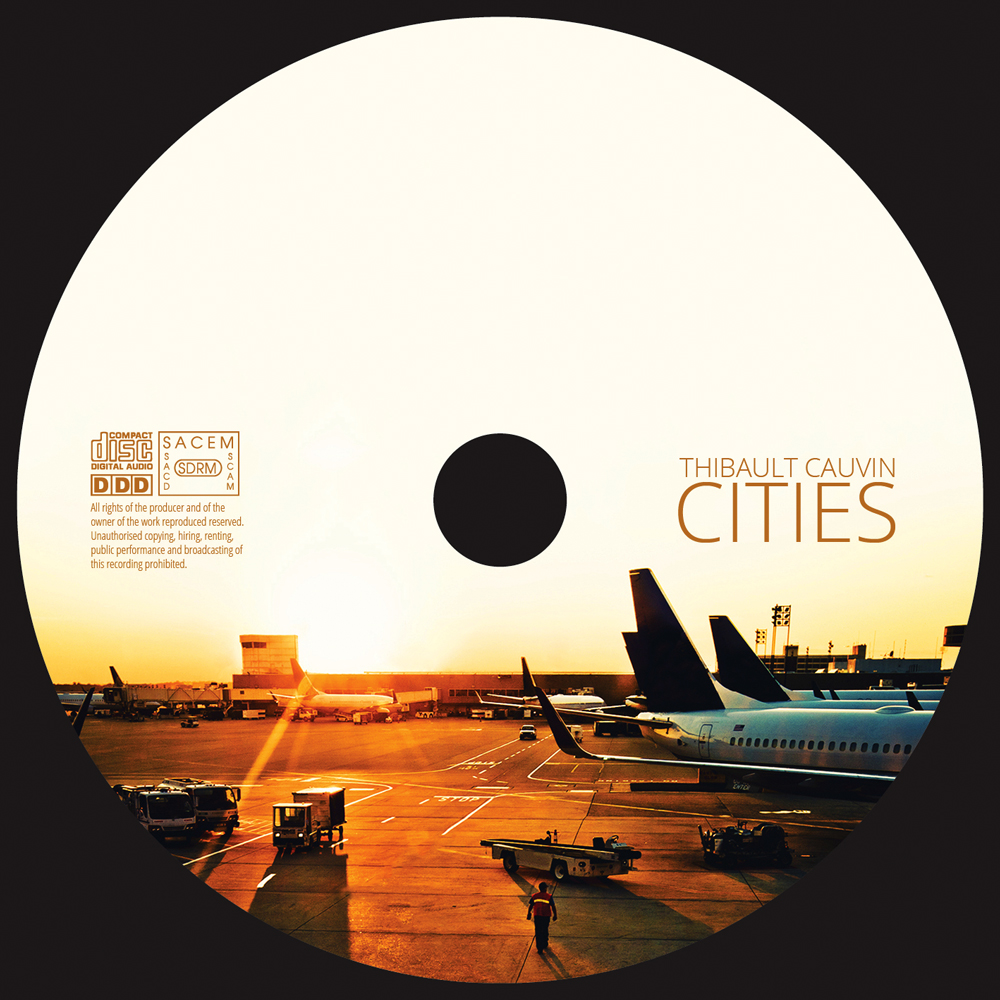 Cd artwork design svg stock Cities - cd artwork, cover graphic design, photo processing by ROHH svg stock