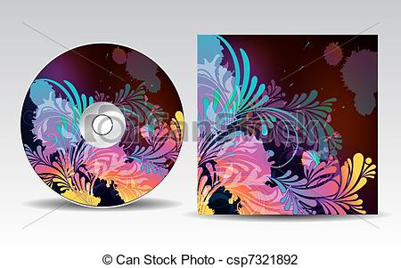 Cd artwork design png black and white stock Cd art design - ClipartFest png black and white stock