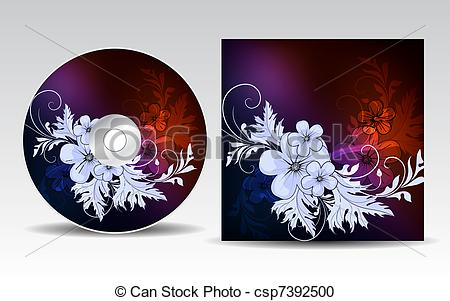 Cd artwork design vector freeuse stock Cd art design - ClipartFest vector freeuse stock